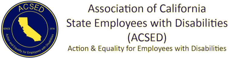 Association of California State Employees with Disabilities (ACSED)
